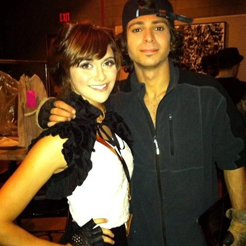Adam G Sevani And Girlfriend
