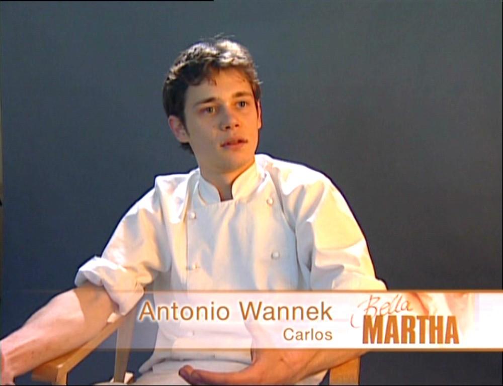 Antonio Wannek in Bella Martha