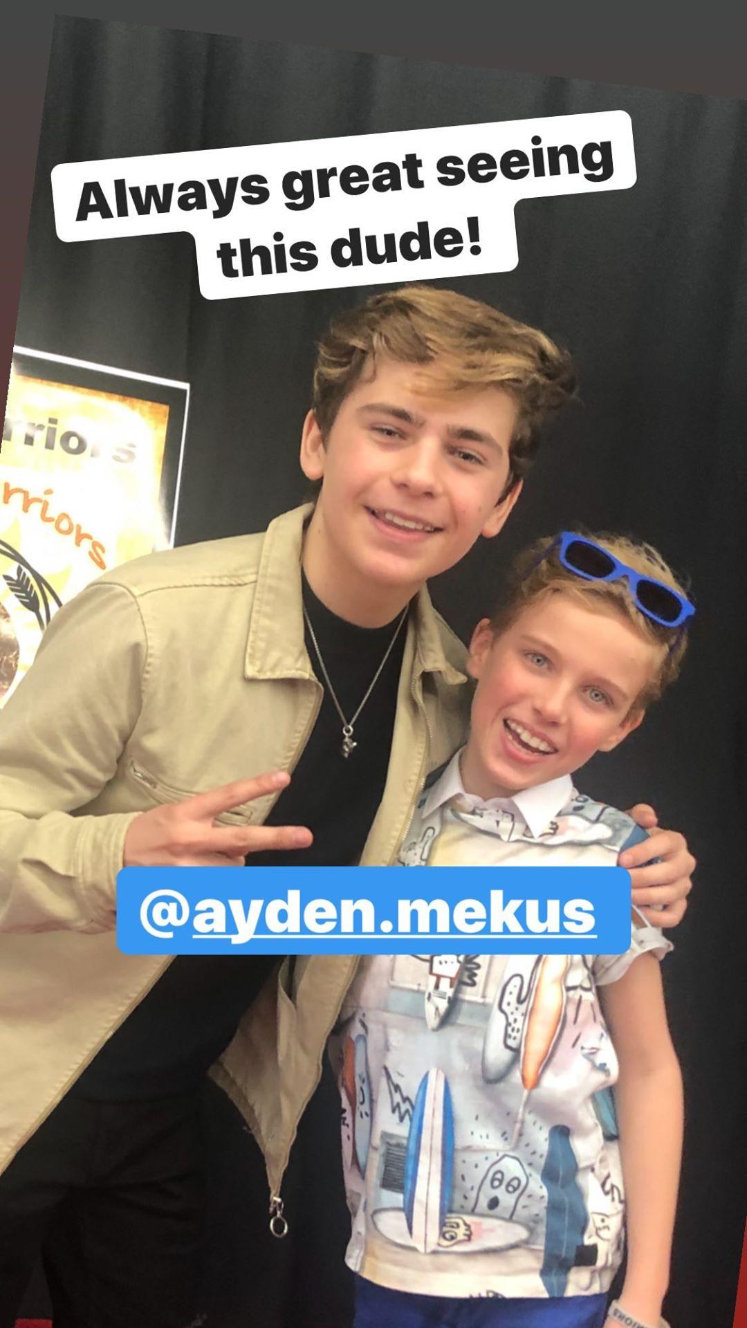 General photo of Ayden Mekus