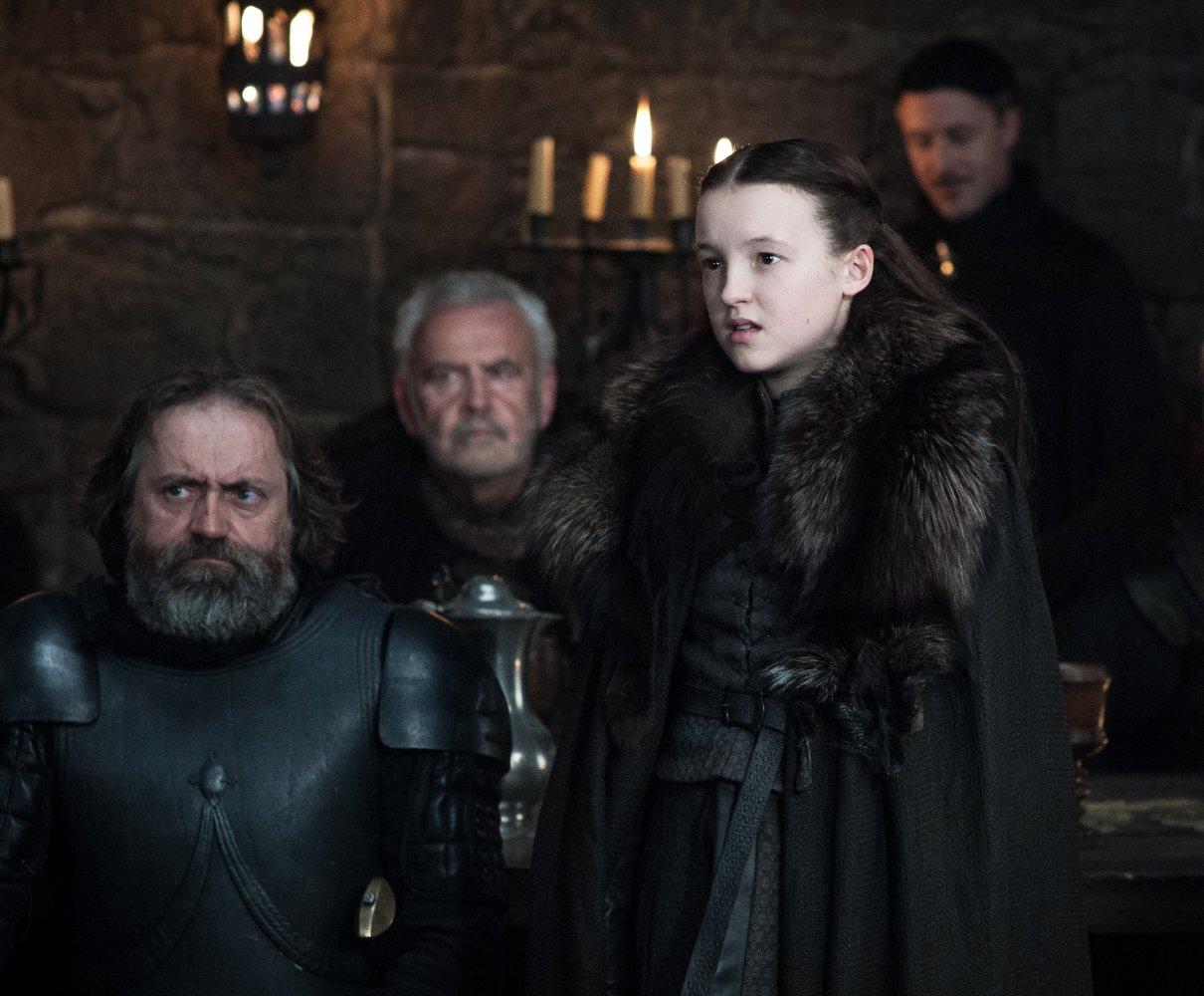 Bella Ramsey in Game of Thrones