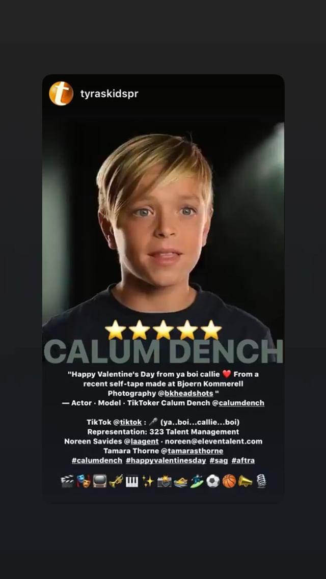 General photo of Calum Dench