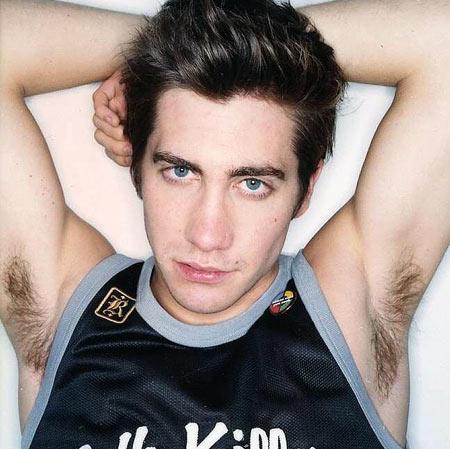 Male celebrity armpit