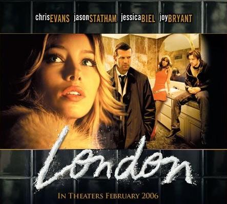 Jessica Biel in London