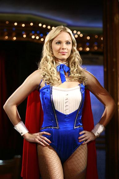 Laura Vandervoort in Smallville