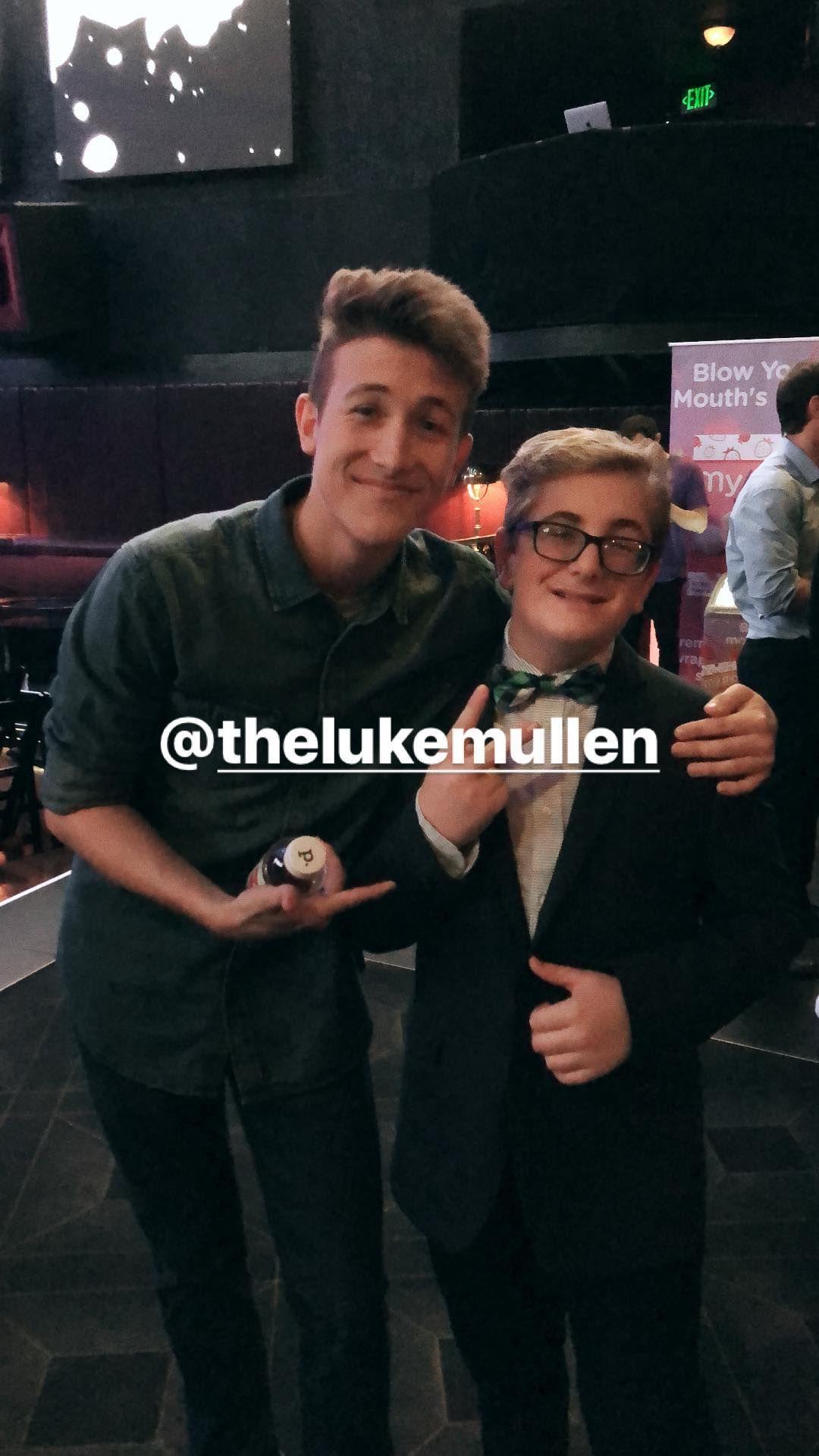 General photo of Luke Mullen