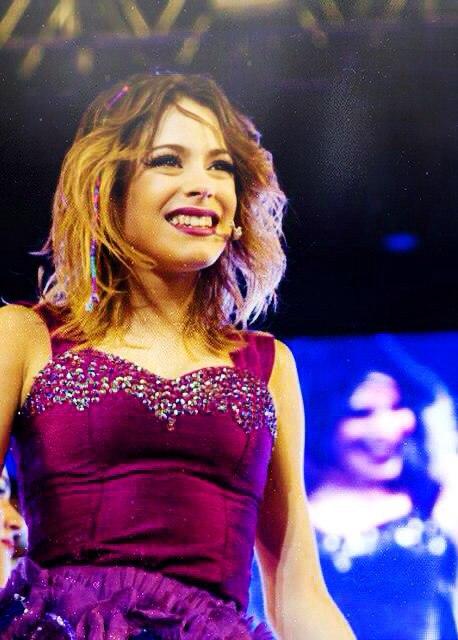 Stephie Camarena (la novia de Jorge Blanco) en Violetta