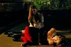 Kayla Ewell in The Vampire Diaries, Uploaded by: Smirkus